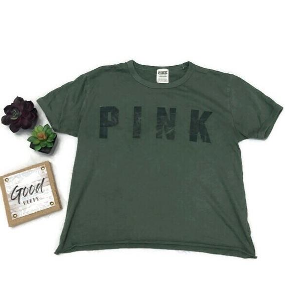 PINK Victoria's Secret Tops - Victoria's Secret Pink Crop Top